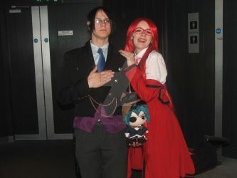 Eirtakon Griell and Sebastian 2 by LilNekoKatz