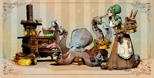 Cooking with otto by BrianKesinger