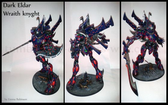 Dark Eldar Wraithknyght by Thira-Evenstar
