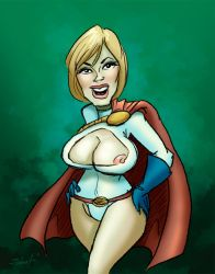 Siri as Power Girl by greasystreet
