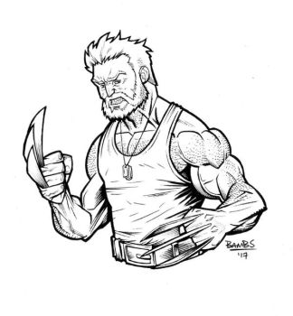 Old Man Logan by Bambs79