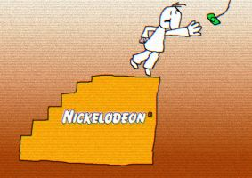 RARE NICKELODEON MAN AND HOLE 'LARGE STOOL' BUMPER by DumpDodosCreations
