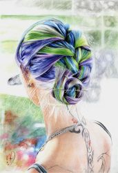 hair color by Thanh-KaMi