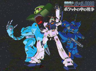 Gundam 0080: War in the Pocket by GundamMeister