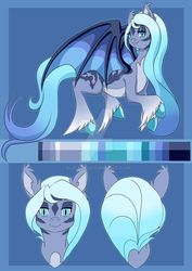 CM:: Lumineax Touffe Reference Sheet by quila111