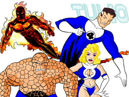 Fantastic Four by TULIO19mx