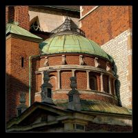 Part Of Cathedral In Wawel Castle by skarzynscy