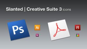 Slanted Creative Suite 3 by barrymieny