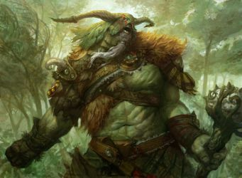 Primeval Titan by PeteMohrbacher