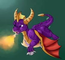 SPYRO IS BACK BABY. by Sinister-Toaster