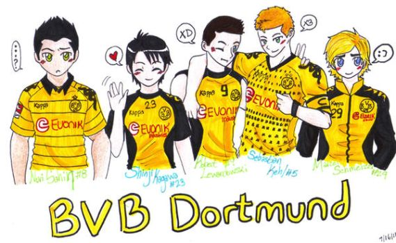 BvB-Player sketches by robotic-phoenix