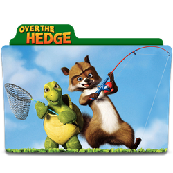 Over The Hedge Folder Icon by SharatJ