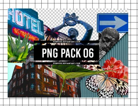 PNG PACK 06 by pxrpose