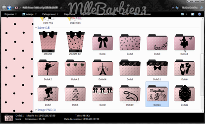 Dolls Icons Folders by MlleBarbie03 by mllebarbie03