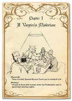 A Vampire's Misfortune - Chapter 1/7 (COLLAB) by sophielegrand2013