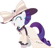 Rarity Titanic Dress by Uponia