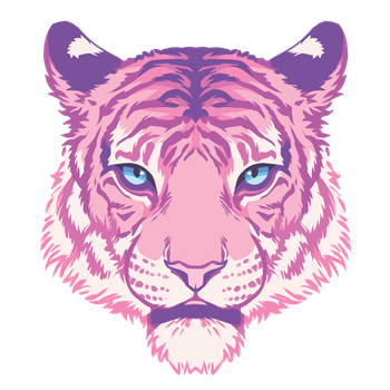 Pink Tiger by Kakiwa