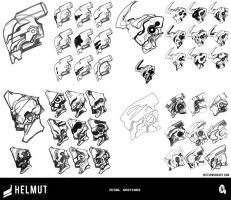 Helmut - Initial Sketches by justinwongart