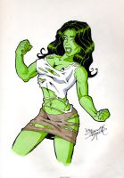 She-hulk by 1hannes2b