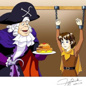 Hook Tortures Peter by tilywendy
