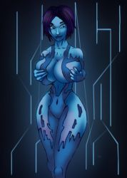 Cortana MASSIVE GIGS (Breast Expansion) Halo 4 by DJdonjuan