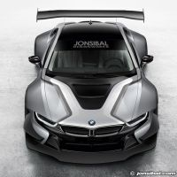 BMW i8 Race Car Concept by jonsibal