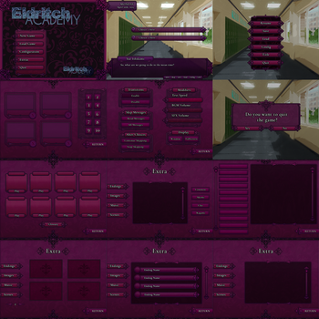 Eldritch Academy UI by potouto