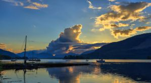 Loch Leven Sunset by BusterBrownBB