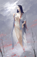 Yuki-onna by lidijaraletic