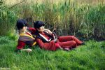 Zuko and Mai by Rinaca-Cosplay