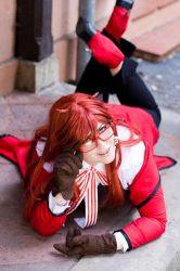 Grell: A Butler to die for by Maohheika