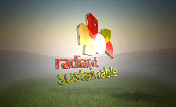 Radiant Sustainable Logo by CodySymes