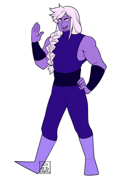 [SU OC] Amethyst by Flamingo-sama