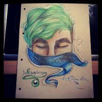 Stay Positive -jacksepticeye by darkPegasista by PONYdBRONY