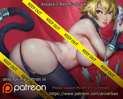 Assassin Red Nude ver. by ariverkao