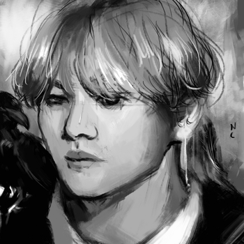 bitch of the crows .aka kim taehyung by nc2311