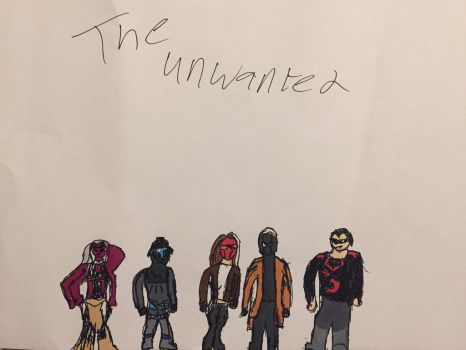 The Unwanted (group pic) by 00Sparx00