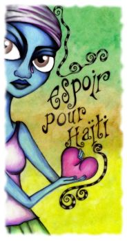 Hope for Haiti by veganwitch