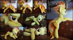 Lifesize Spitfire plush by RosaMariposaCrafts