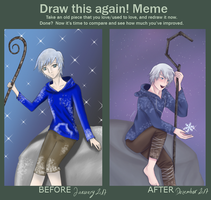 Draw This Again - Jack Frost by Tama-Artwork