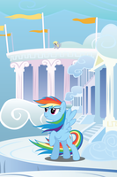 Rainbow Dash Windy Mane iPhone Wallpaper by RDbrony16