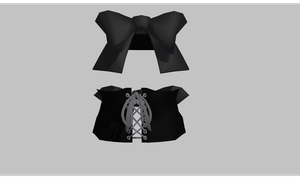 MMD Corset by amiamy111