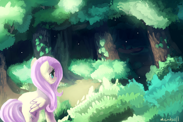 Everfree Forest by Mewball