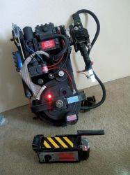 GHOSTBUSTERS PROTON PACK AND GHOST TRAP by ritter99