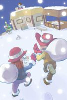 EarthBound Mother3 Christmas by Arashi-H