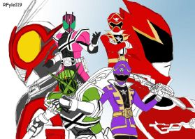 Super Hero Taisen Fan Version by RFyle119