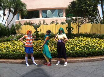 PnF  at the Flower and Garden Festival at EPCOT by SmoresDragon