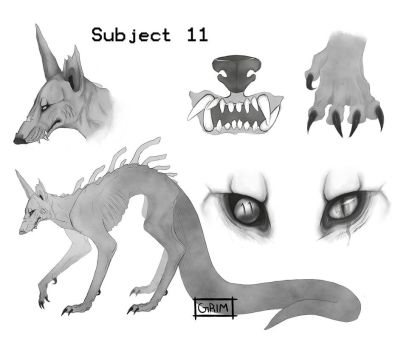 Subject 11 by GrimDodger