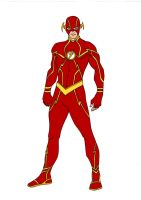 JLA~Year One Flash by Comicbookguy54321