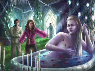 In the throne room of the Fairy Queen by SUOMAR